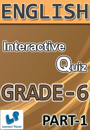 6 Cbse English Part 1 Interactive Quizzes Worksheets On Articles