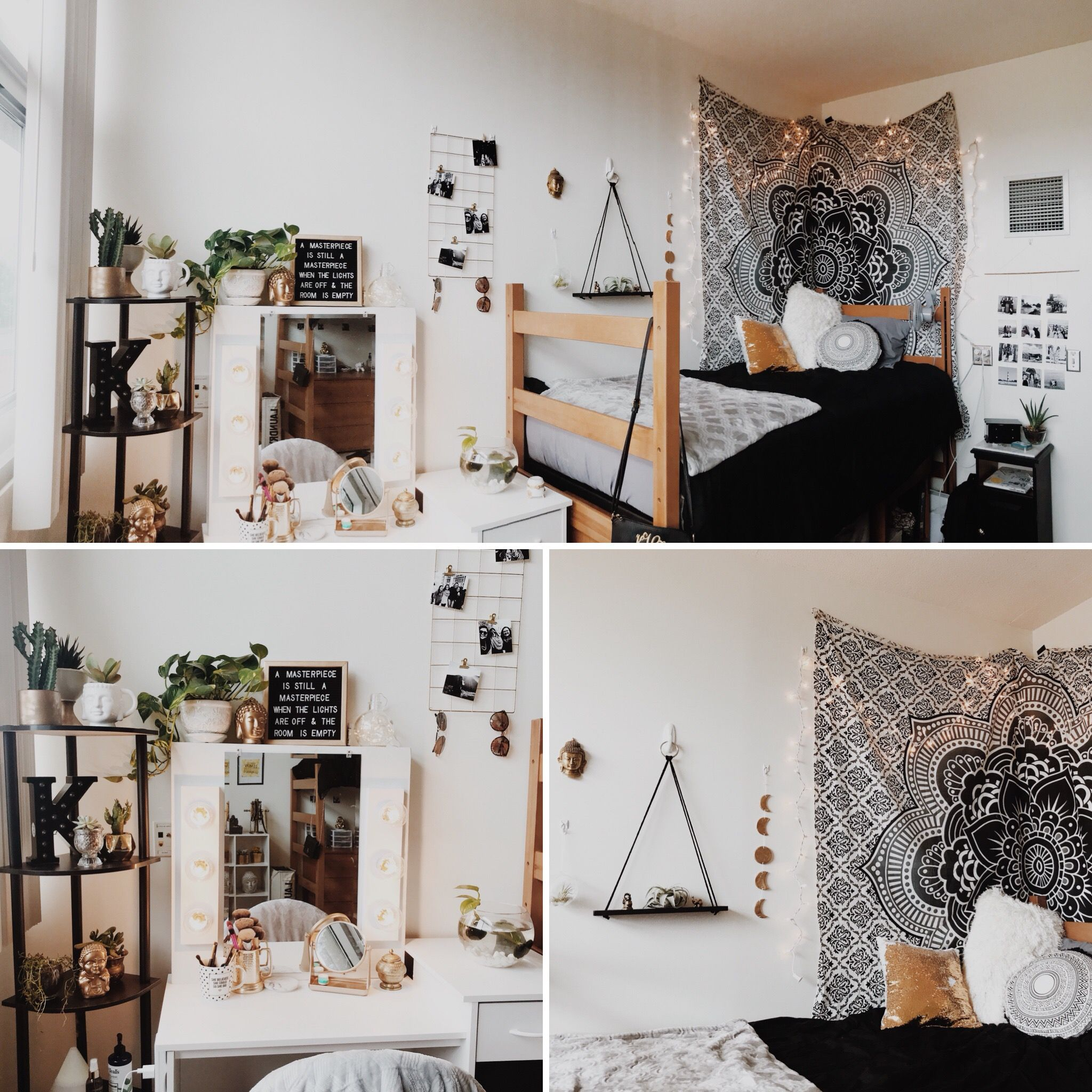 how to decorate a dorm room on a budget