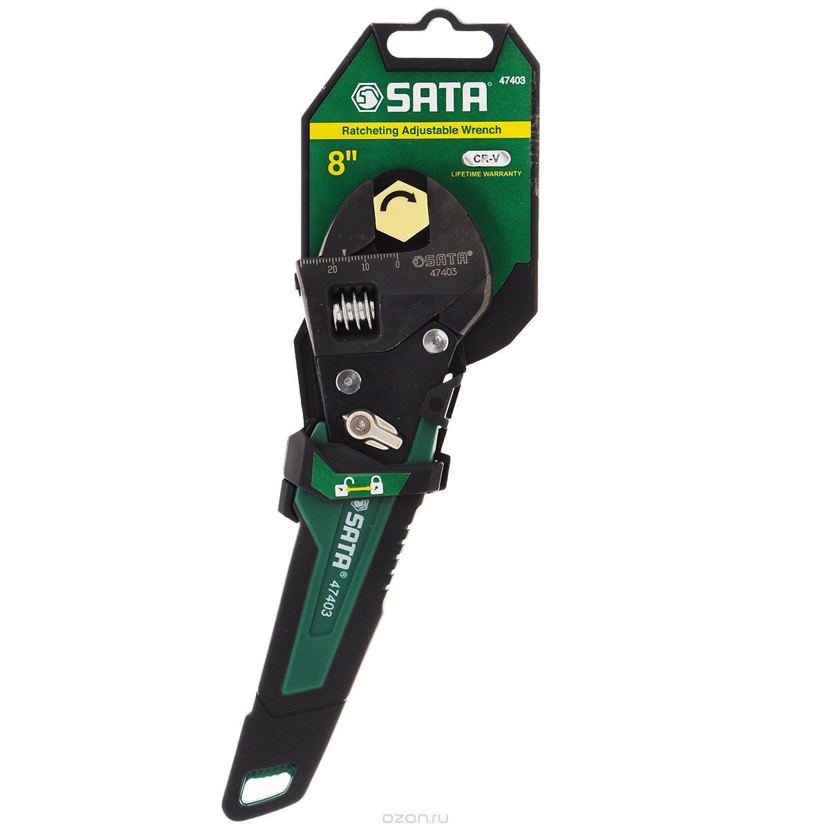 Разводной ключ SATA 47403