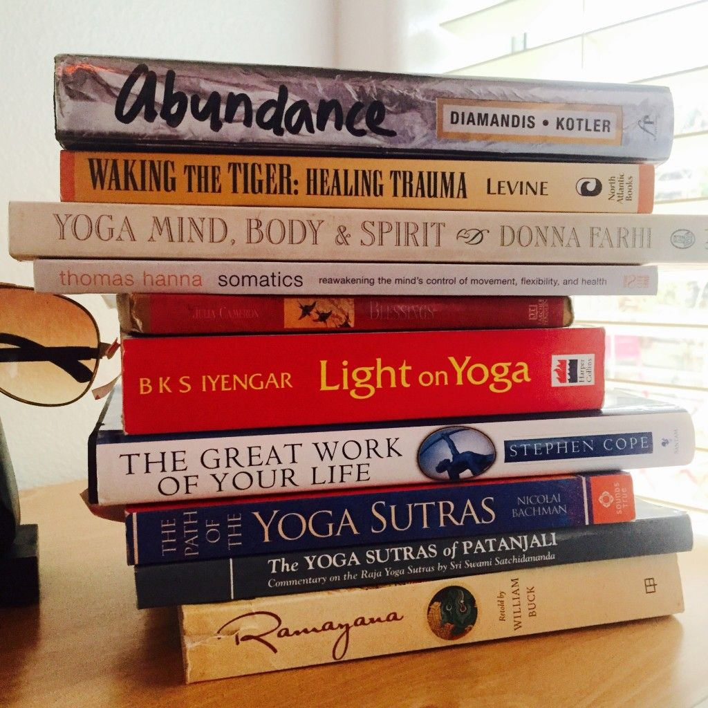 10 Yoga Books Every Yogi Should Read And Why - Check out the list here! http://zenactivesports.com/10-yoga-books-you-should-read/