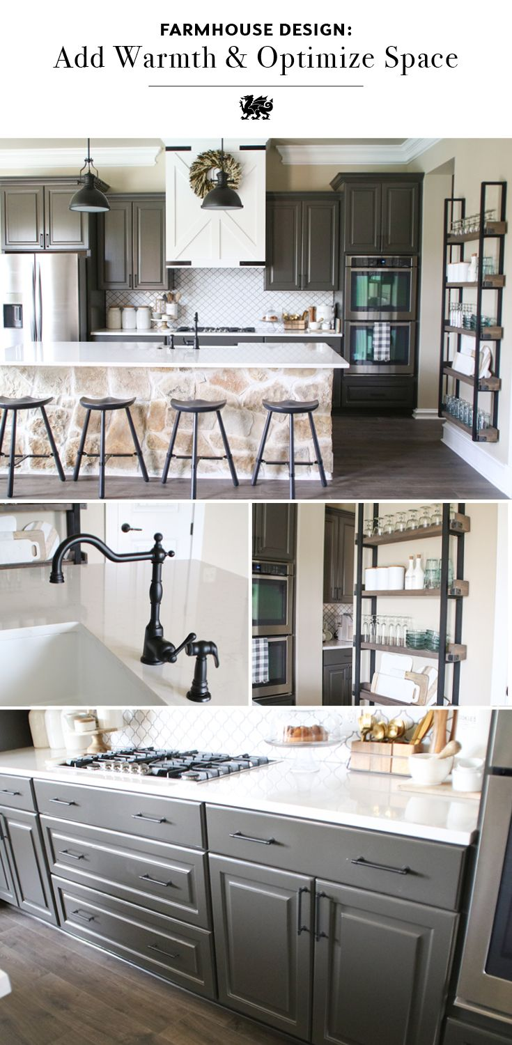 Updating The Kitchens Shanty 2 Chic Trendy Farmhouse
