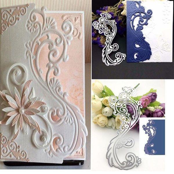Card Craft Metal Cutting Dies Stencil Scrapbooking Embossing Album Pattern Lace