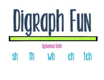 Digraph Fun: sh th wh ch tch Phonics Games   Literacy with