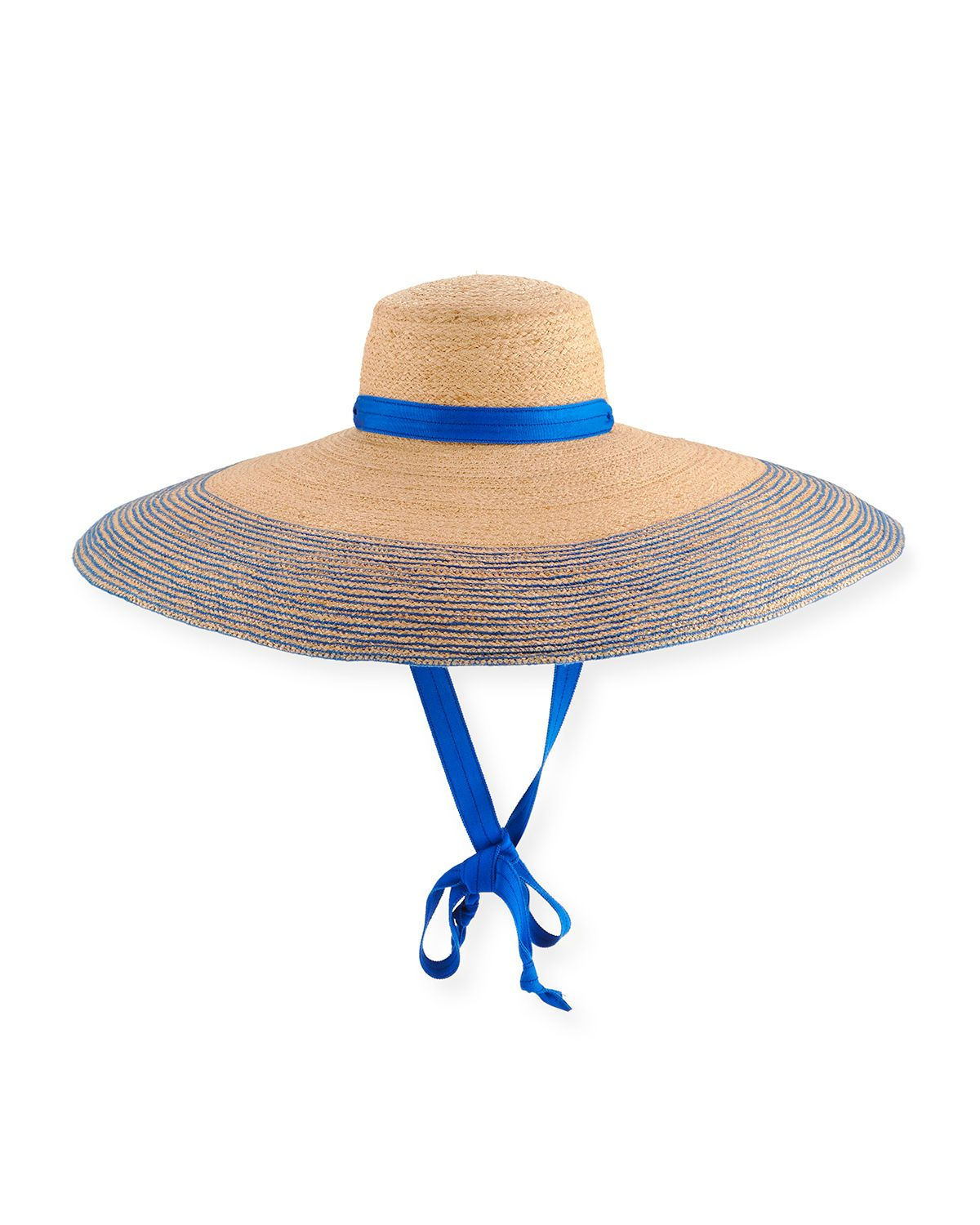 63a8ec6d7dfc LOLA HATS NOMAD WIDE-BRIM RAFFIA SUN HAT WITH RIBBON. #lolahats ...