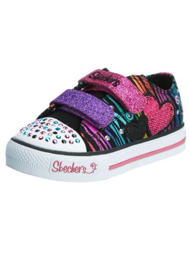 75bbcbf94759 Alaina s new Sketchers Twinkle Toes shoes. So cute