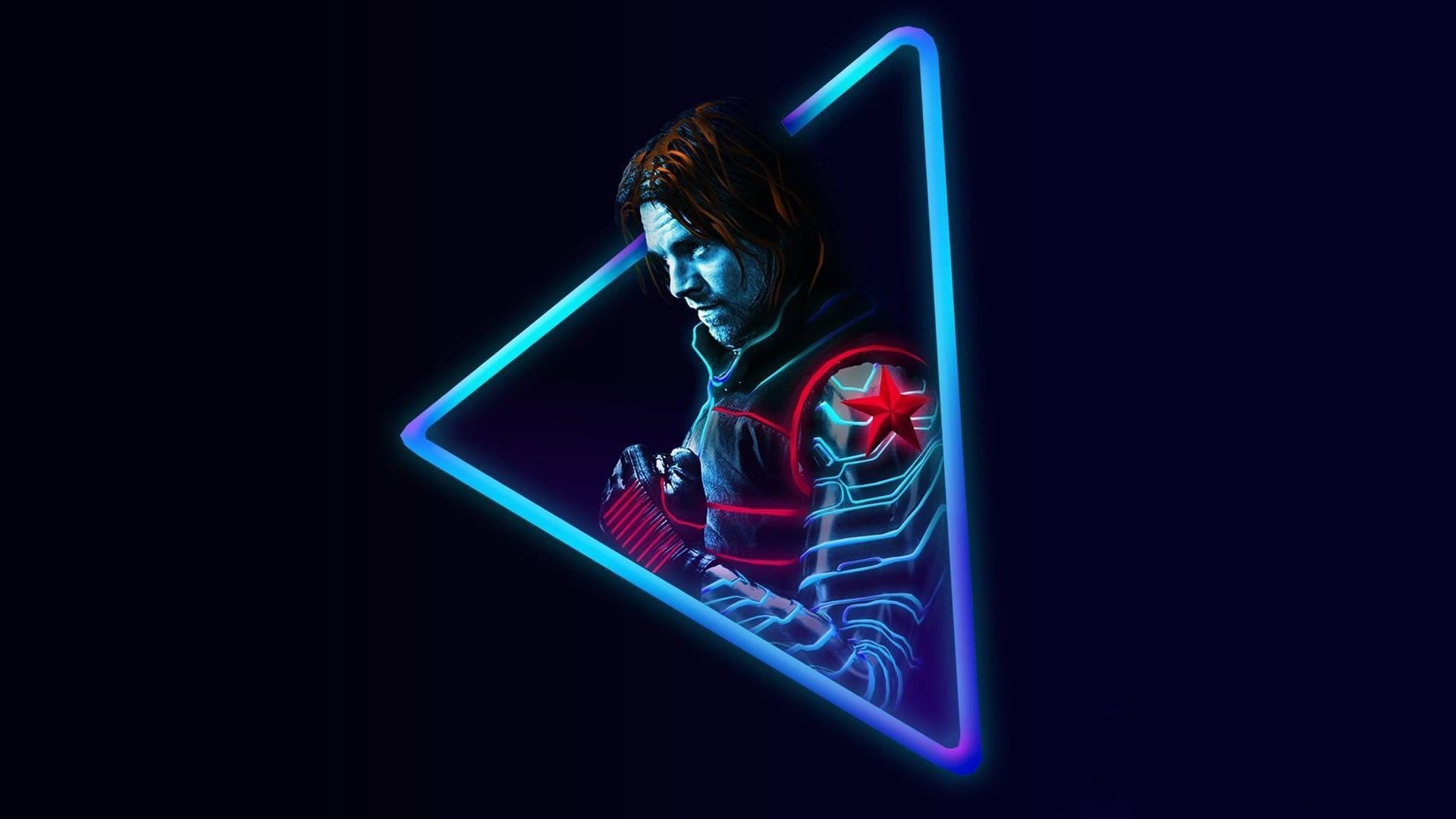 Neon Avengers 1920x1080 Desktop Wallpapers Based On Artwork
