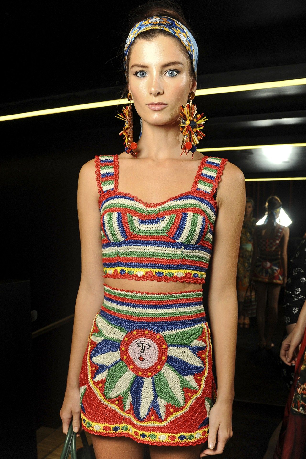 fb head Fashion, Festival fashion women, Dolce and gabbana