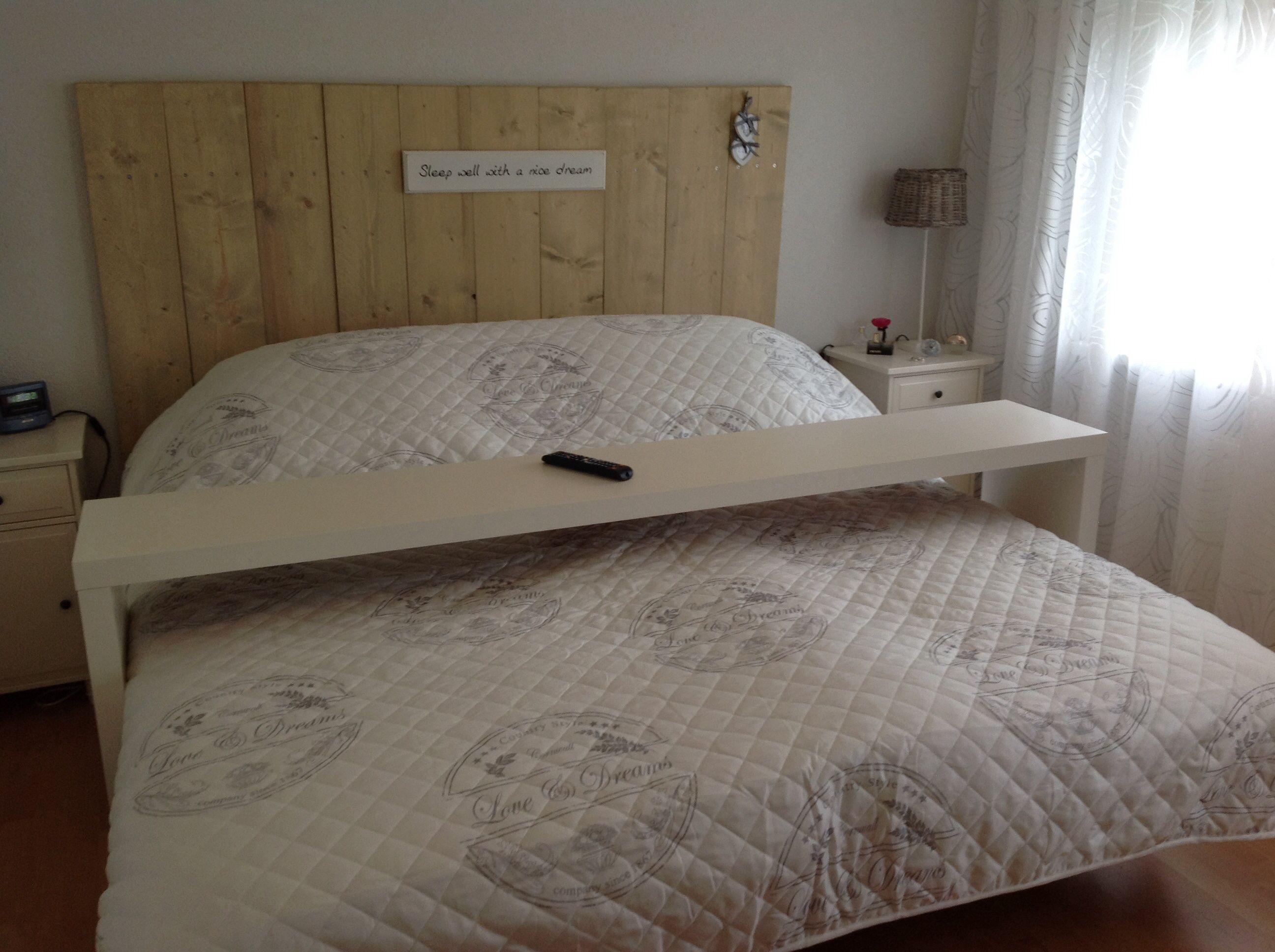 Achterwand bed slaapkamer google zoeken slaapkamer for Slaapkamer bed