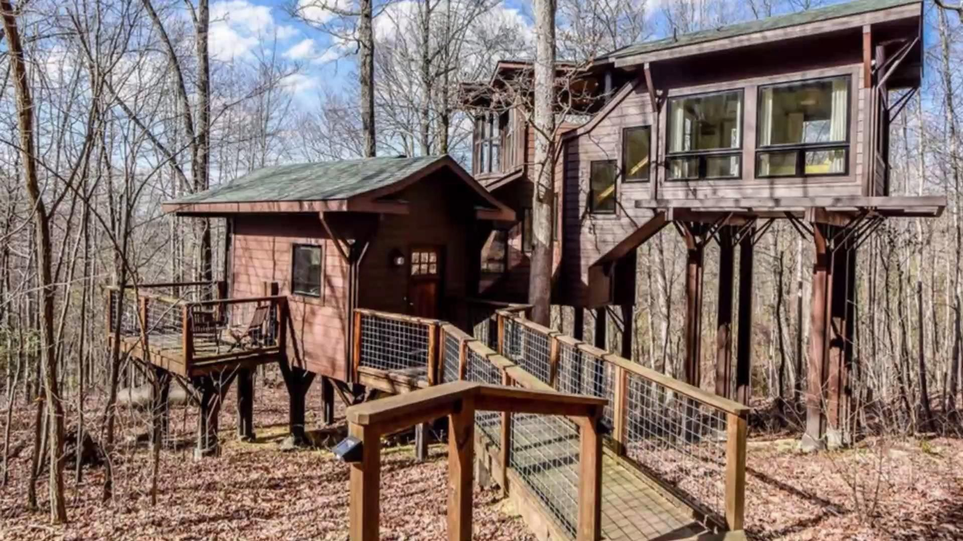The Best Tennessee Getaways for Spring Tree house