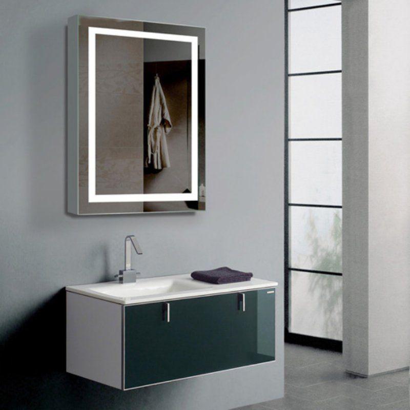 Paris Mirror Harmony Cabinet Illuminated Led Bathroom Mirror With