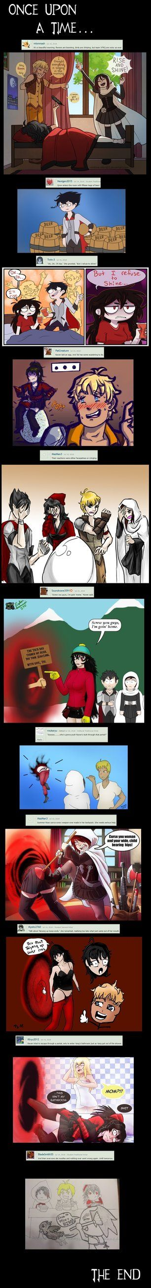 RWBY Group Community Comic 6 Version 1! by https//www