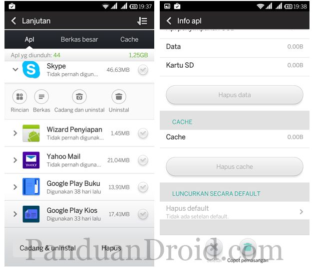 Cara Membersihkan Cache Aplikasi Android Di Xiaomi Redmi 1s Http