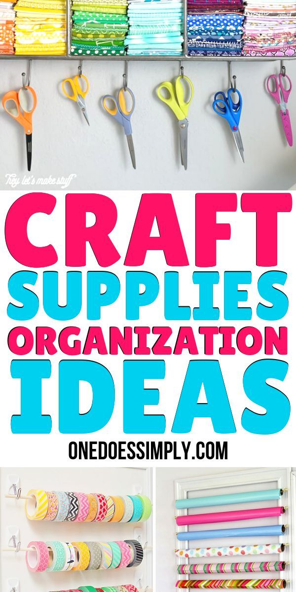 10 Craft Room Organization Ideas Every DIY Person Should Know images