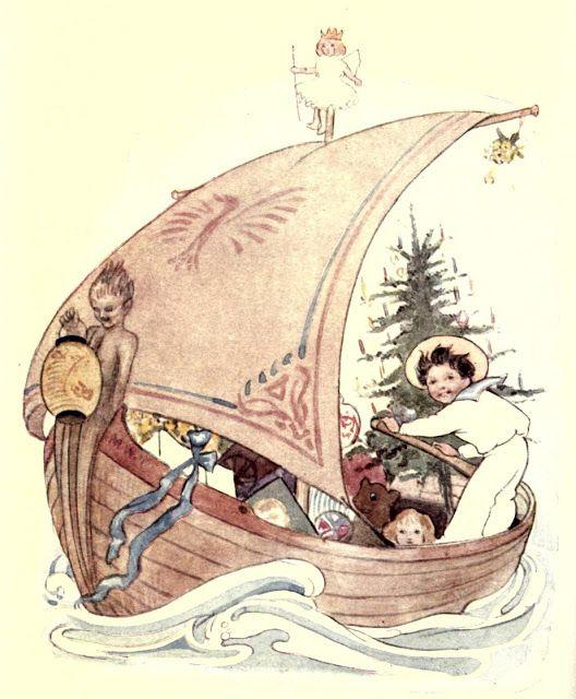 I SAW A SHIP A-SAILING -- NURSERY RHYMES Illustrated By