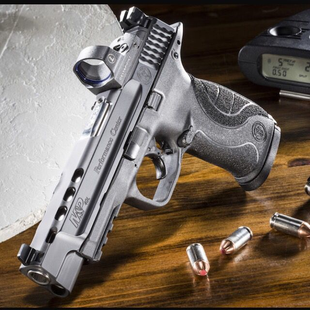 Pin By C M On H O M E In 2019: M&P Performance Center Ported 9mm Smith And Wesson