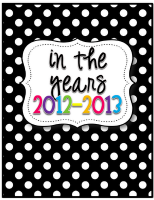 Teacher printables for schedules and lesson plan books