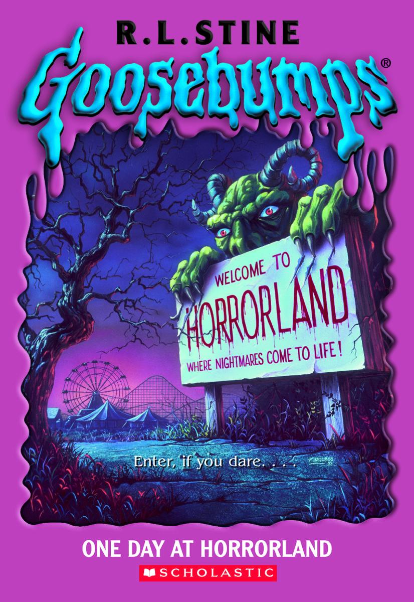 Goosebumps One Day at Horrorland Halloween books, Books
