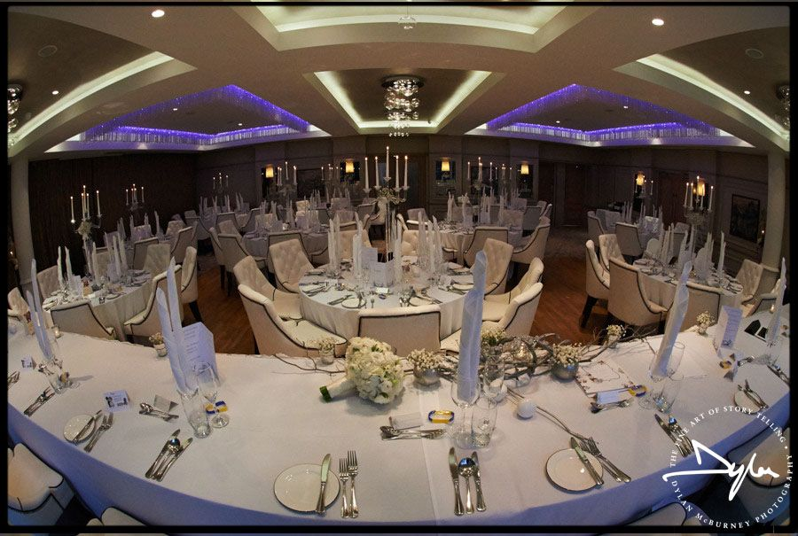 Wedding Reception At The Four Seasons In Galgorm