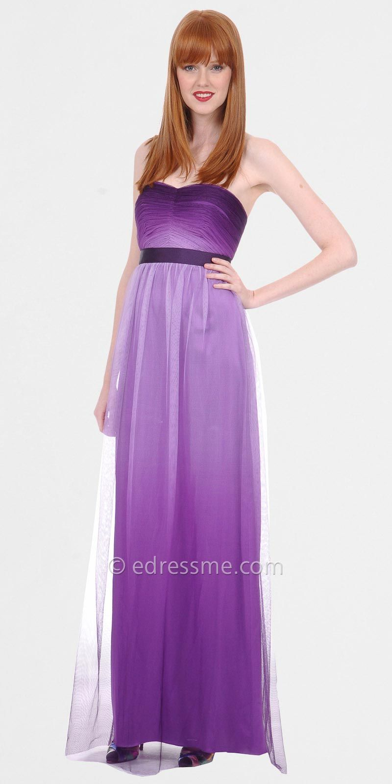 Purple bridesmaid dress love this one!!! | THE Wedding | Pinterest