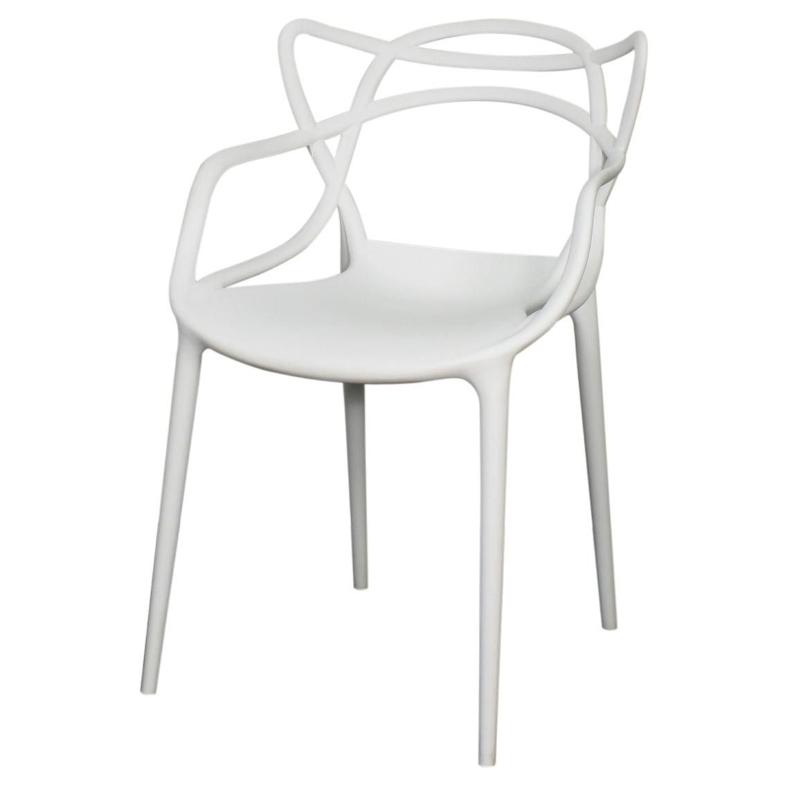 Russell molded pp arm chair whitew erica zipp pinterest