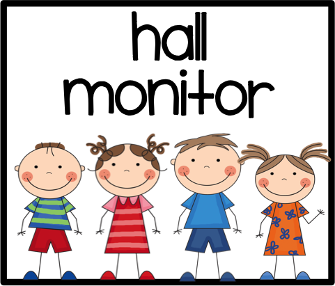 hall monitor clip art this person passes out all papers at the end rh pinterest com end of school clip art free end of school clip art