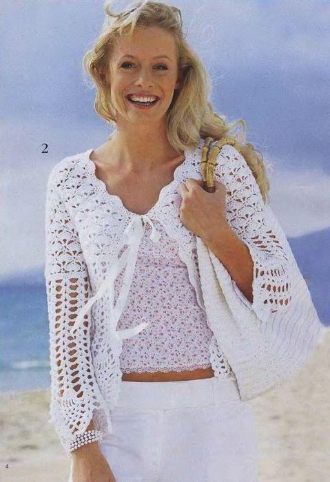modele de veste au crochet gratuit