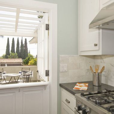 White Cabinets Sherwin Williams Sea Salt Walls For The Home