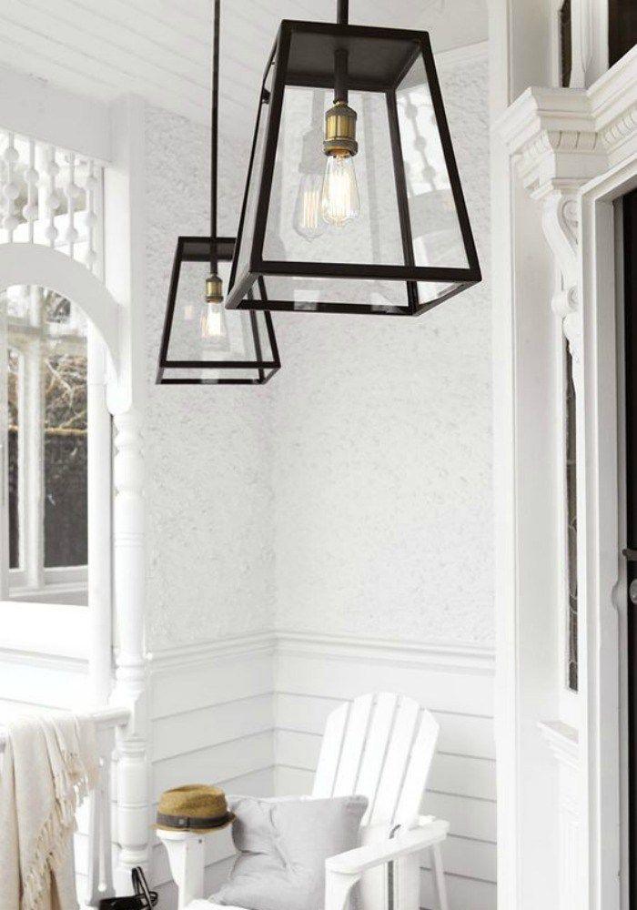 Hamptons Style Outdoor Lighting Exterior Pendant Lights Porch