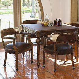Game Table Chairs Small Game Rooms Western Furniture Table Games