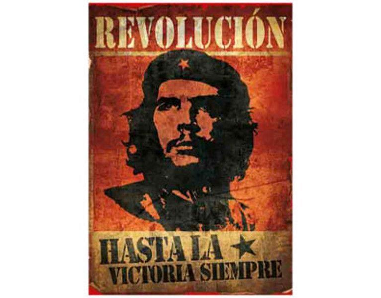 Che Guevara - Revolucion Vintage - Textile Poster Flag Che - gardine für küche