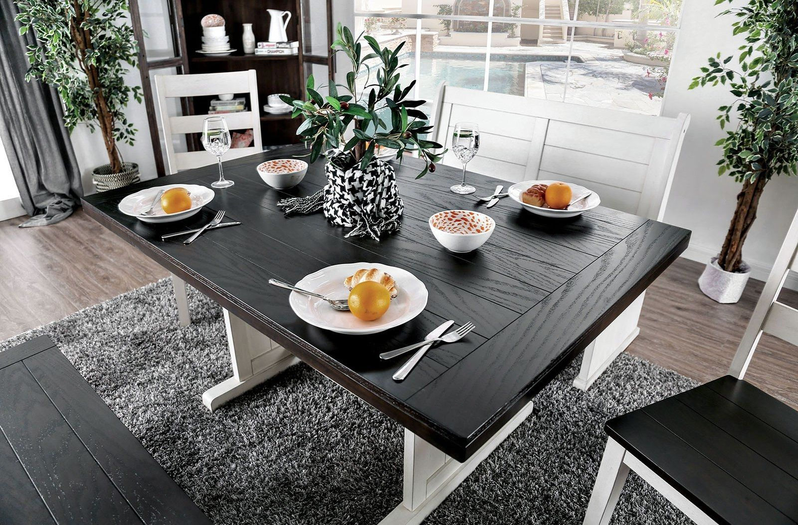 Nekoma Table Dining Table Dining Table In Kitchen Counter