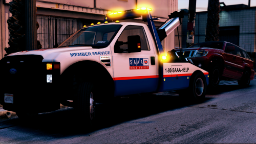 AAA & CAA skins for F550 Wrecker and Flatbed  These are just