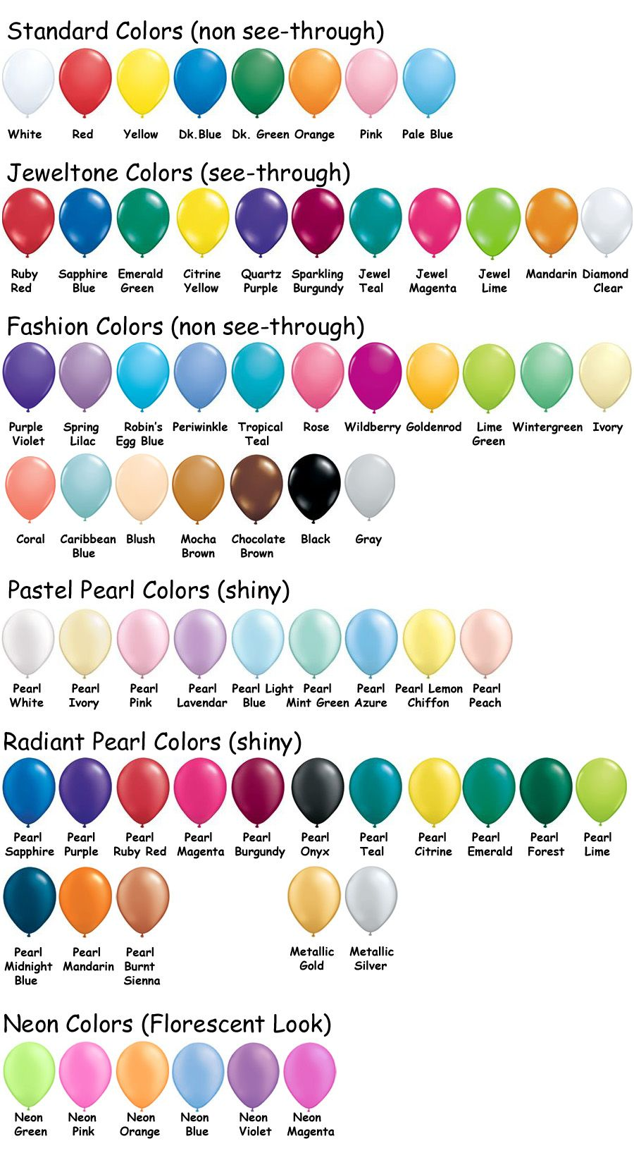 Qualatex color chart all revised042014g balloon charts colour chart nvjuhfo Images