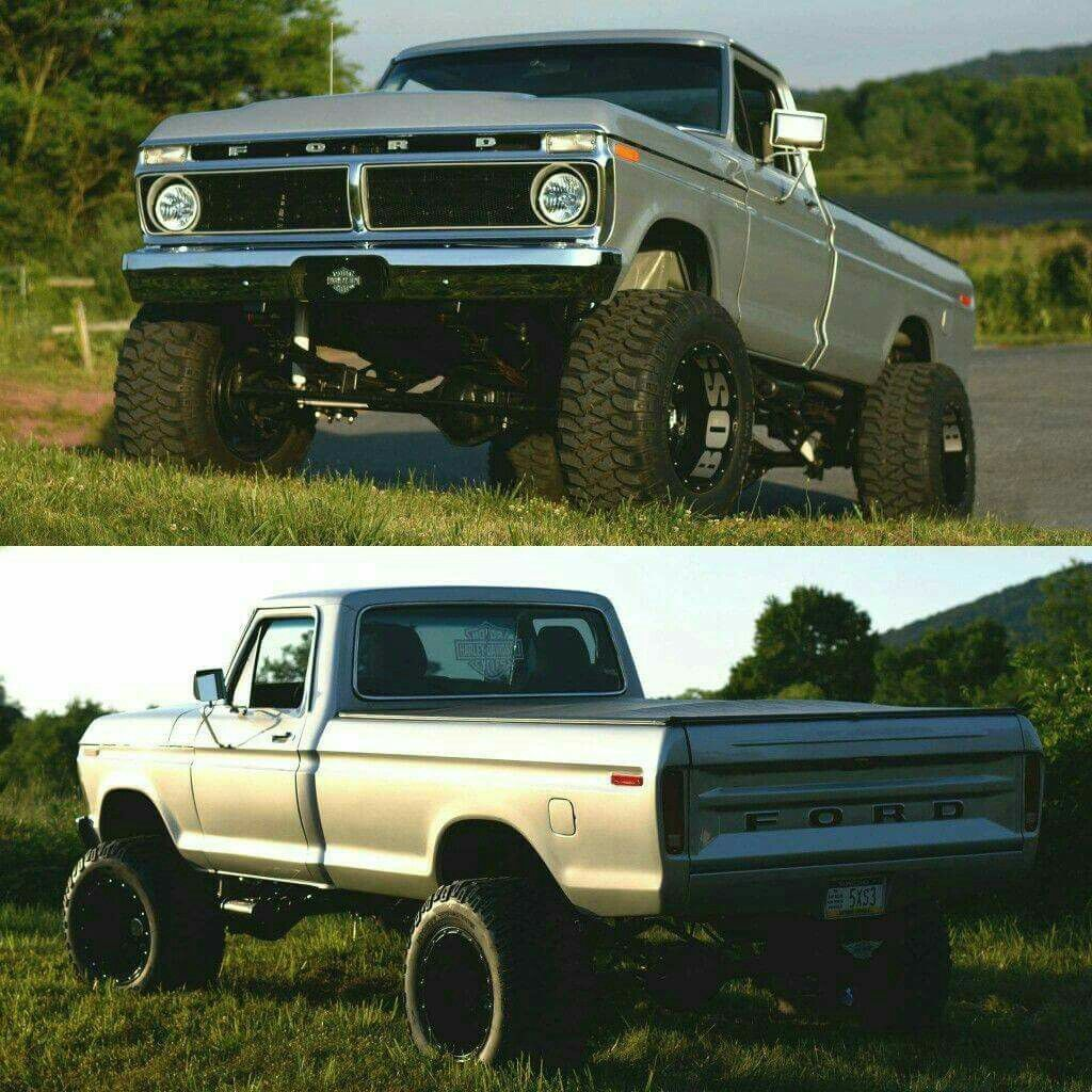Bad Ass Old Ford Truck | Garage Life, Machines and other stuff ...