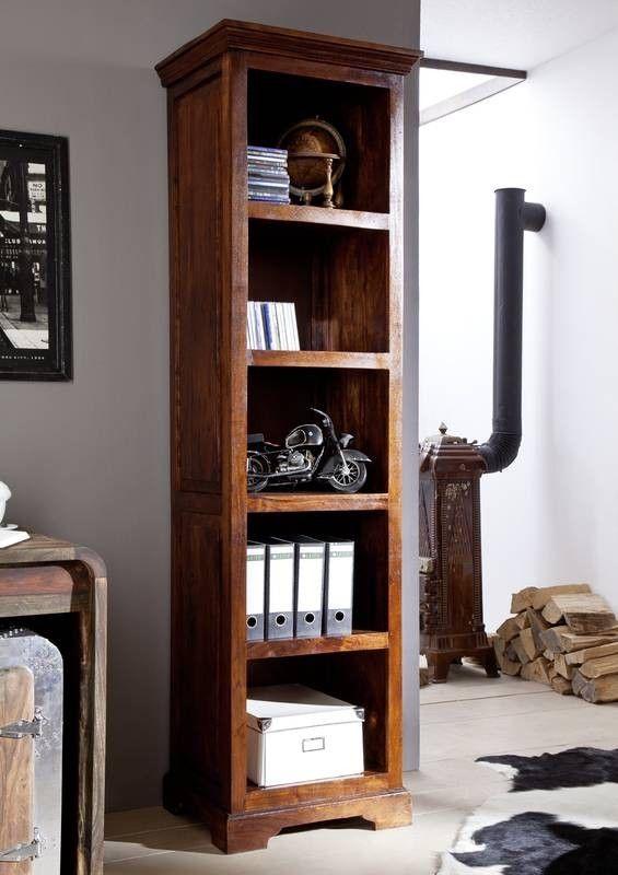 kolonial regal akazie massiv holz oxford #441 | wohnzimmer | pinterest - Wohnzimmer Kolonial