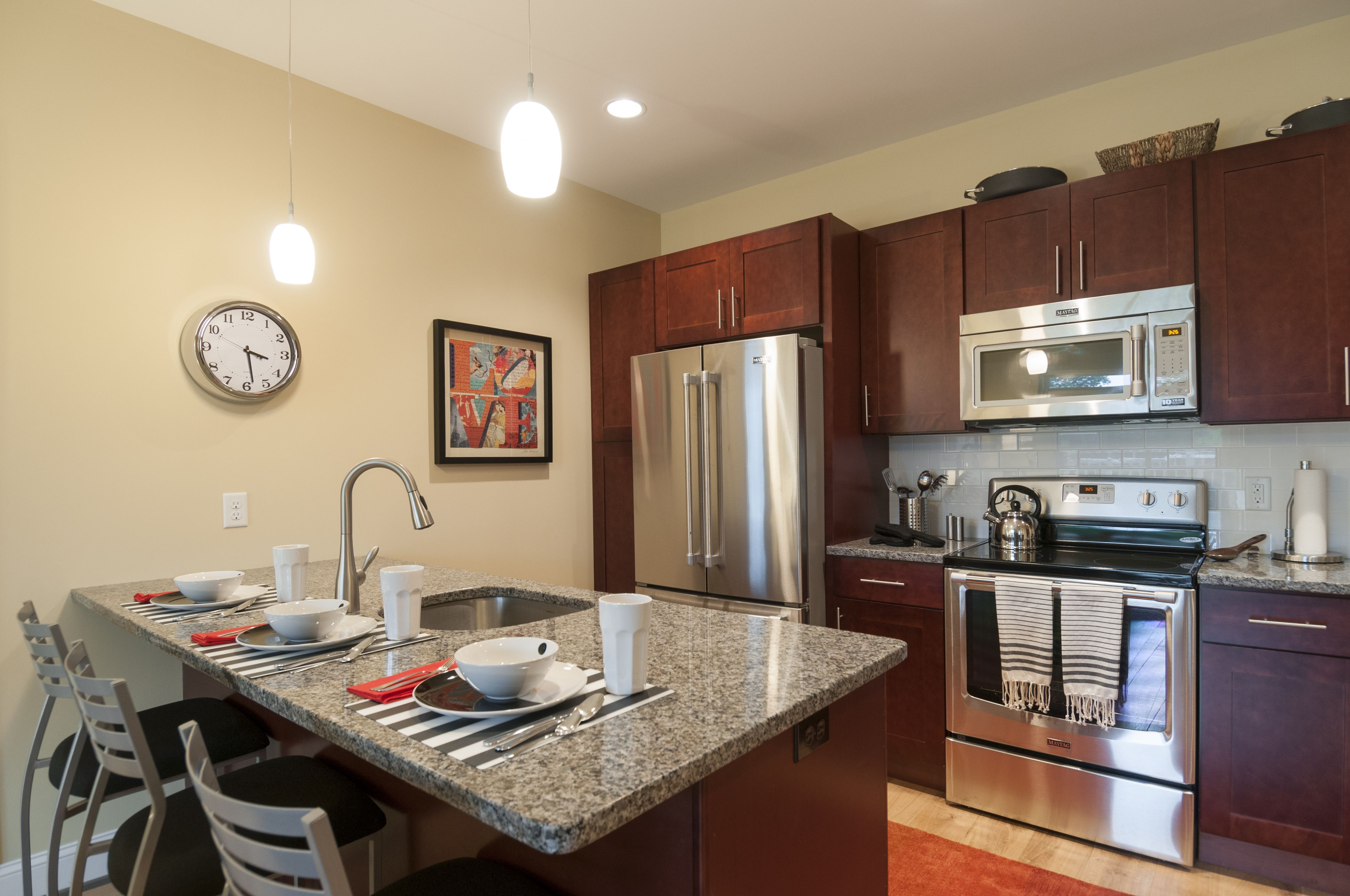 This unique and open kitchen can be yours at the