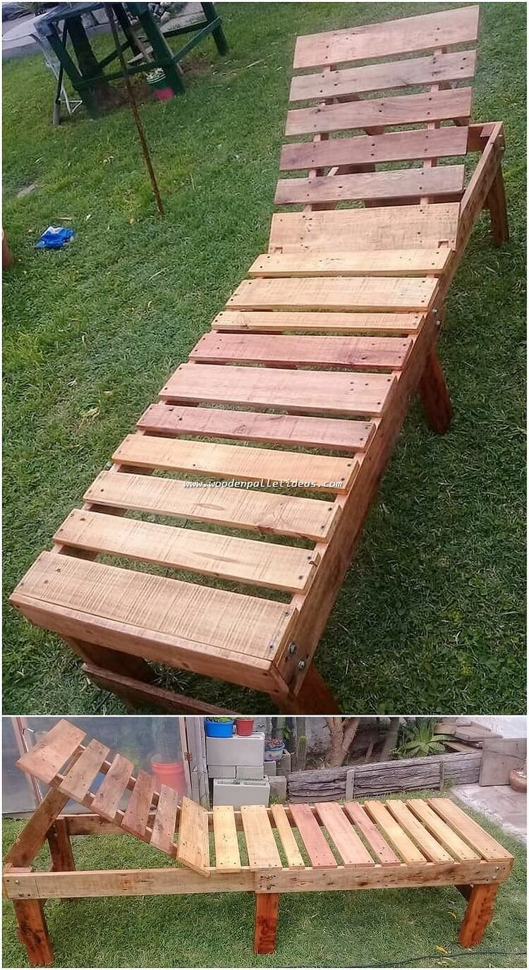 How About Setting With This Fabulous Creation Of The Wood Pallet In Your House Gard Pallet Furniture Outdoor Simple Garden Furniture Ideas Diy Garden Furniture