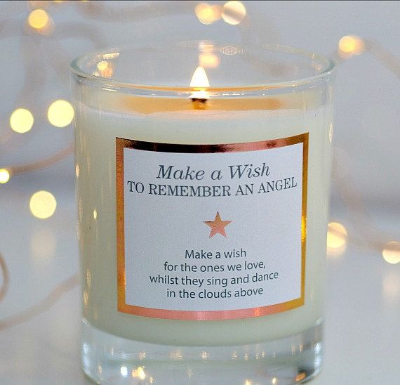 Remembrance Gifts Deepest Sympathy Message by MakeAWishCandleCo - sympathy message