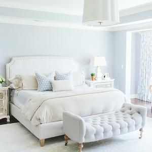 Blue bedrooms transitional bedroom kate marker - Zuhause im gluck schlafzimmer ...