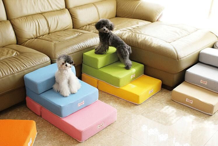 15ptful Pet Furniture Pet Dog Stairs Puppy Anti Slip Pet