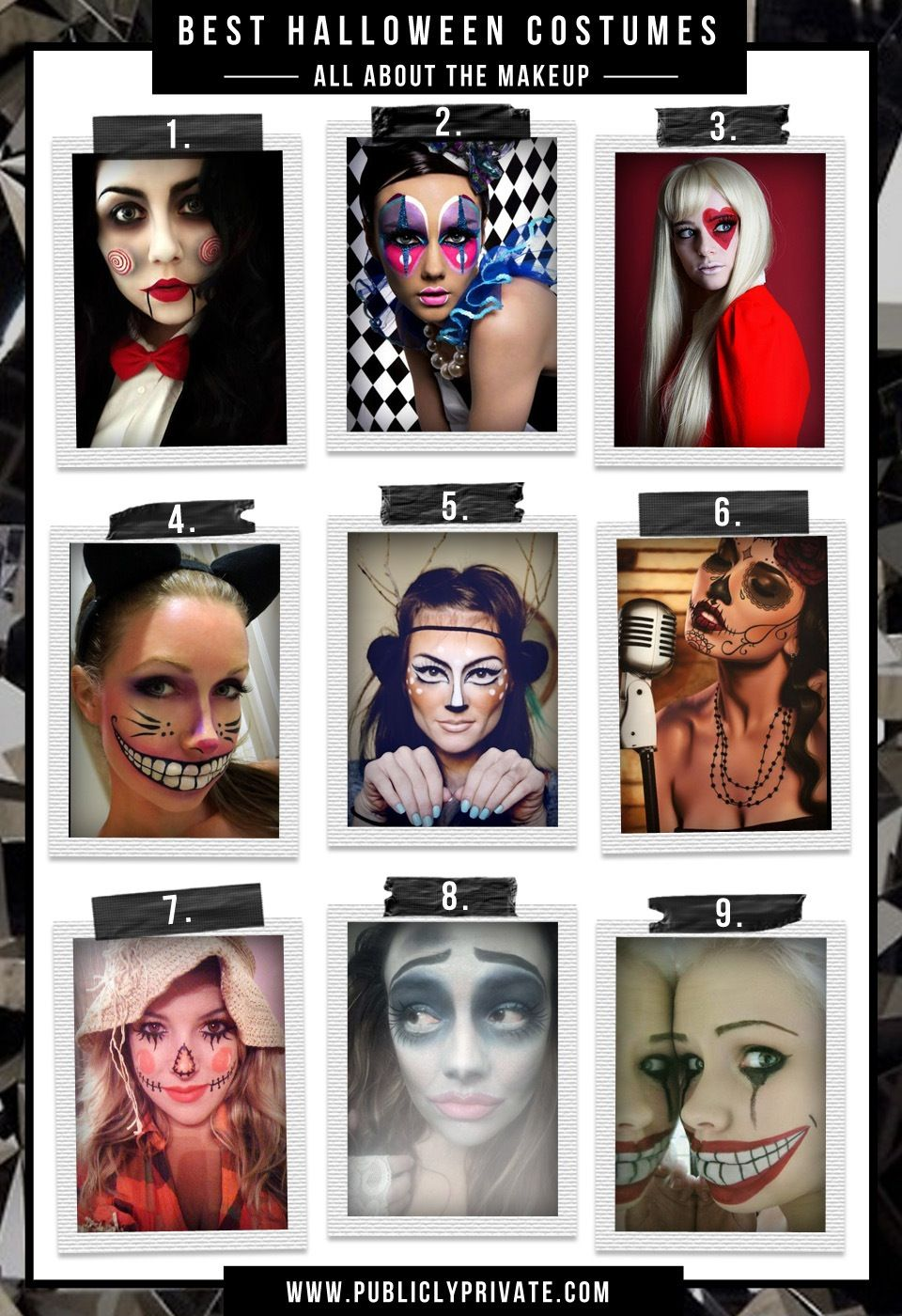 Best halloween costumes and diy makeup ventriloquist doll sexy