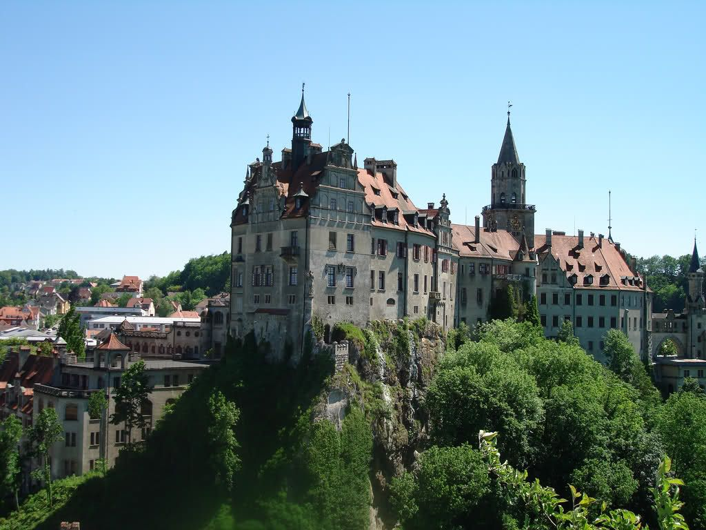 Sigmaringen on the Danube river, Baden-Württemberg