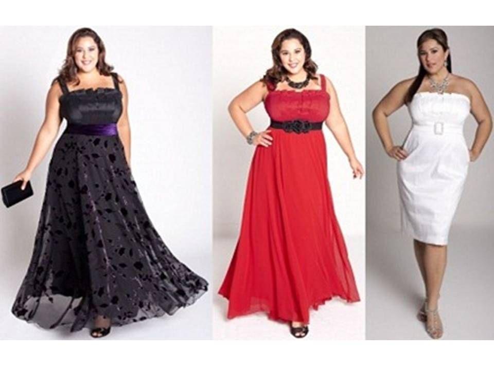 Vestidos de fiesta para mujeres de talla grande