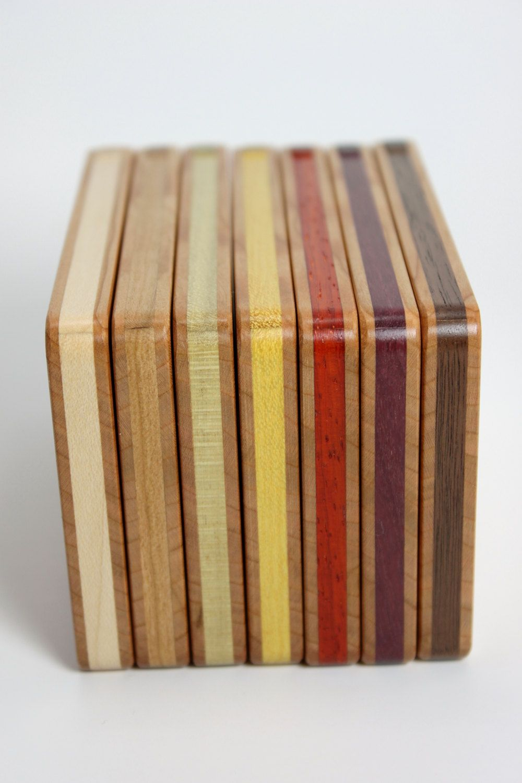 Wood business card holder cherry wood business cards business wood business card holder cherry by inelasticgoods on etsy colourmoves