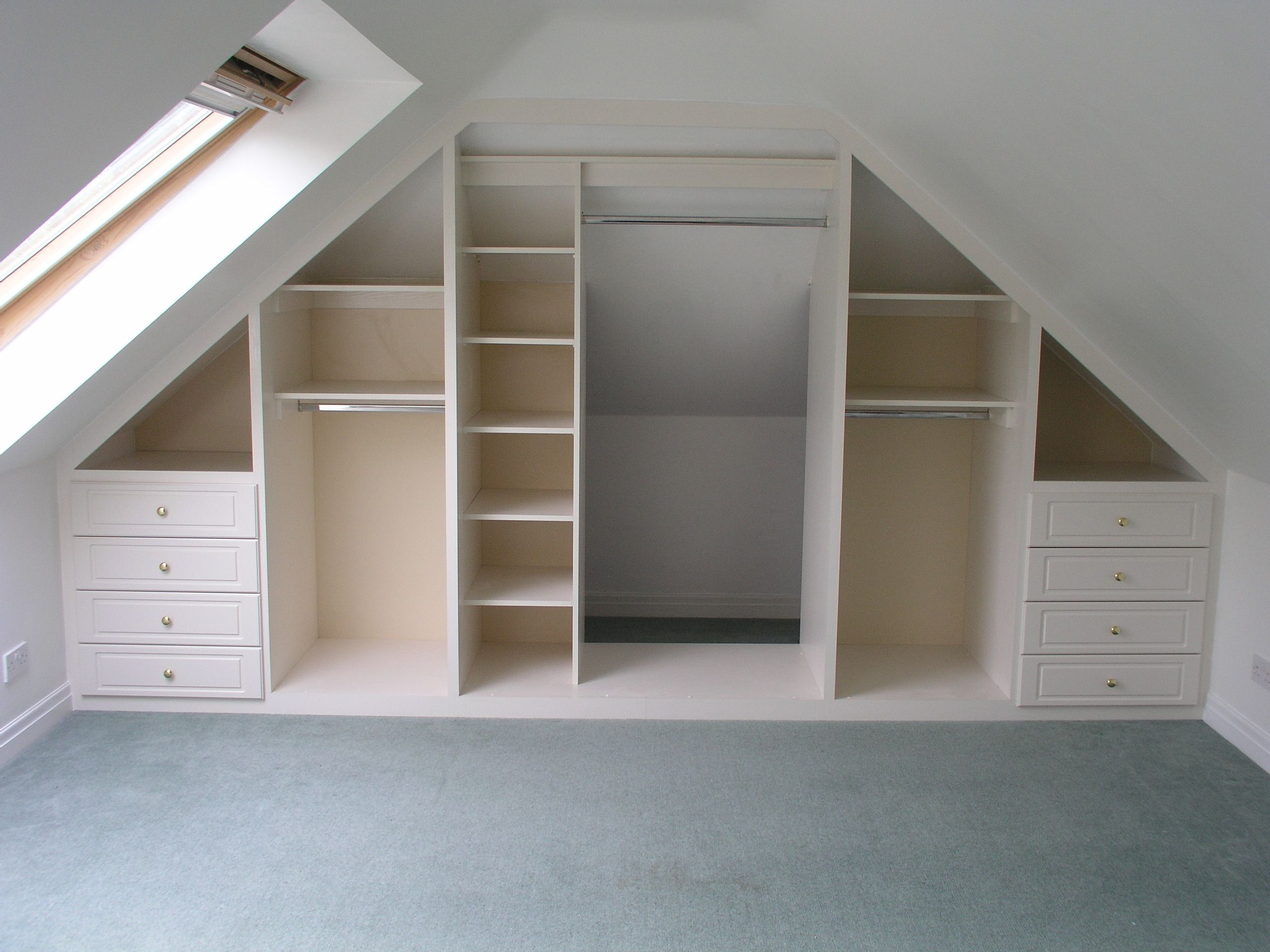 Angled Ceilings Don T Have To Restrict Storage Space Www