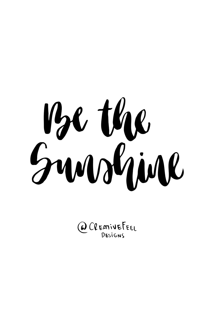 Be The Sunshine Quotes Quotes Inspirational Quotes Attitude
