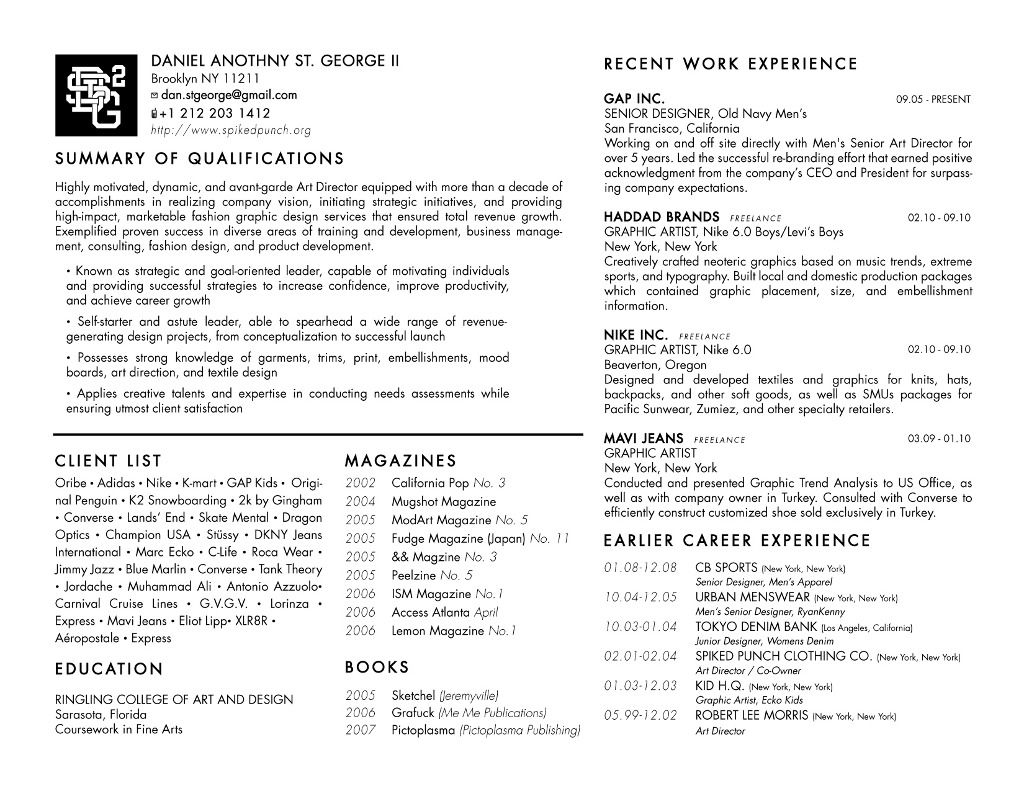 Areas Of Expertise Resume Fashion stylist resume, Resume