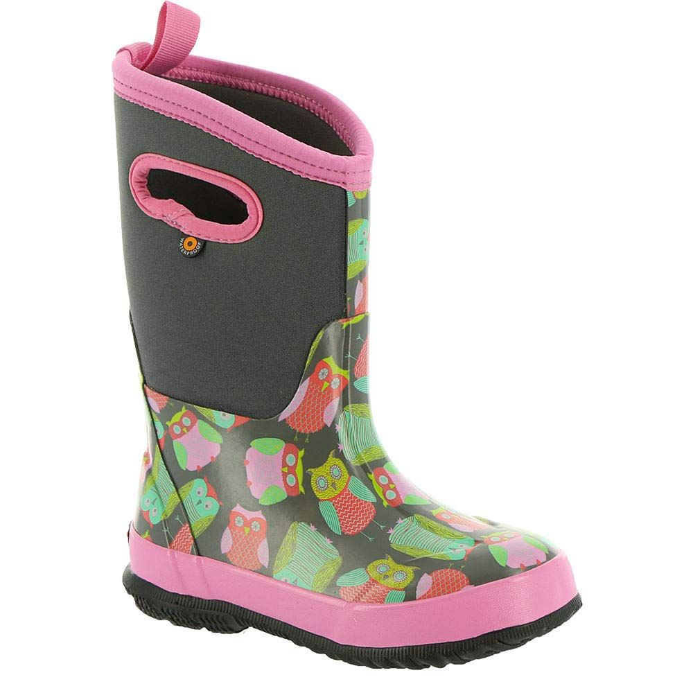 Bogs Kids Classic High Waterproof Insulated Rubber Neoprene Snow Boot
