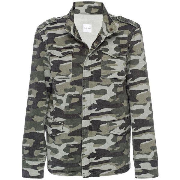 ANINE BING Women's Camouflage Army Jacket Size M (€140