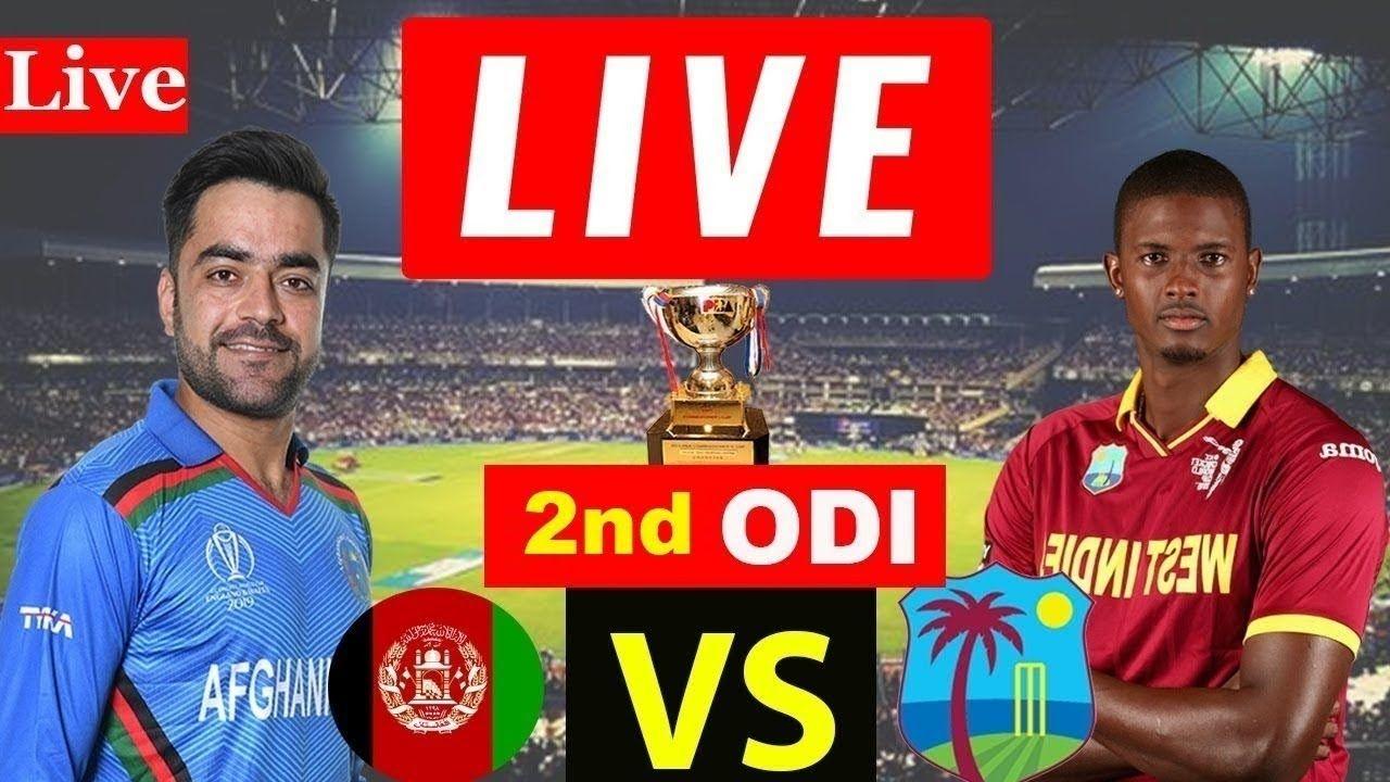 Afghanistan vs West Indies ODI Live Stream 2nd ODI Live